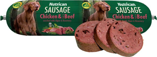 NUTRICAN - Nutrican Sausage kuře & hovězí