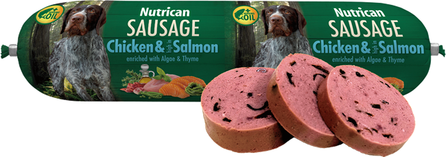 NUTRICAN - Nutrican Sausage kuře & losos